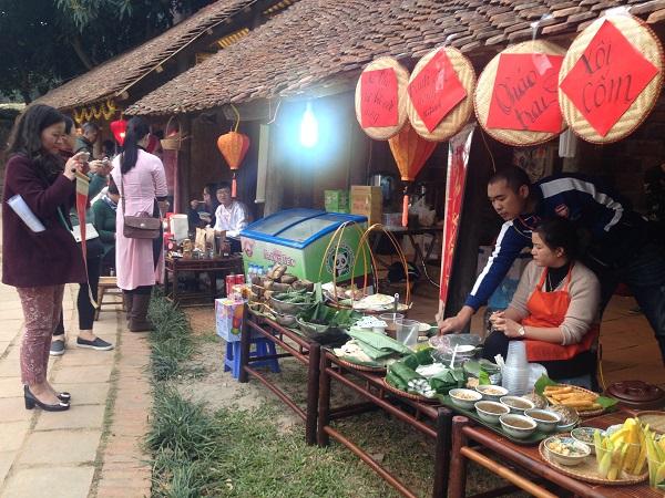 The culinary area (Credit: hanoitv.vn)