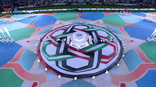 This was the opening ceremony of an impressive Asian Cup with many records, such as the largest number of teams to attend (24 teams), and the largest number of viewers watching the live broadcast of the programme (more than 300 million).