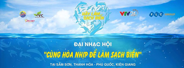 A concert calling for ocean cleanup will be broadcast live on the Vietnam National Television's VTV1 on June 18. (Photo: VTV24)