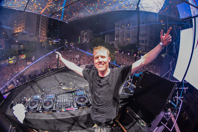 """DJ Jay Hardway, known for his hit track """"Wizard"""" produced in collaboration with Martin Garrix,"""