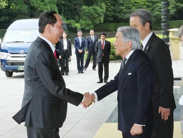 President Tran Dai Quang is paying a State visit to Japan from May 29 to June 2 (Photo: VNA)
