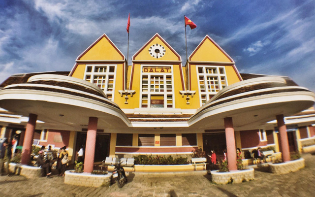 Da Lat Railway Station, a local icon of the city