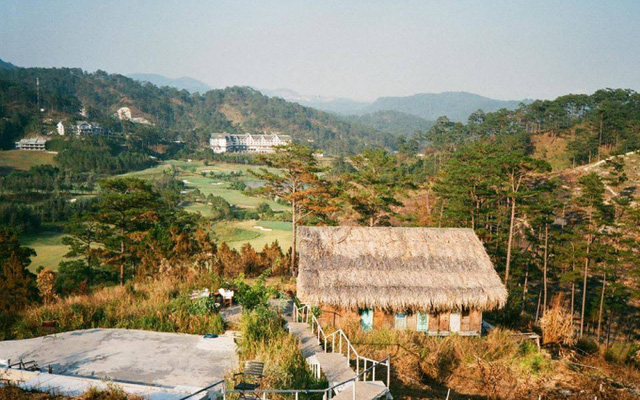 A corner of Da Lat from the Wilder-nest homestay, about 15km from central Da Lat city