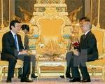 Chủ tịch nước Trương Tấn Sang tiếp tục các hoạt động thăm cấp Nhà nước Vương quốc Campuchia