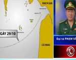 Tàu Lam Hồng KG 61743TS mất liên lạc từ 29/10