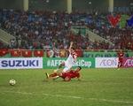 Minh Tuấn nhanh chân ghi bàn mở tỉ số trận gặp ĐT Lào