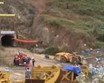 Sập hầm thủy điện: Công binh cứu hộ với thiết bị chuyên dụng