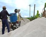 Khan hiếm cát trắng trồng hành tỏi ở Lý Sơn