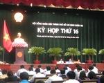 Bế mạc kỳ họp thứ 16 Hội đồng nhân dân TP.HCM khóa VIII