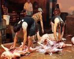 TP.HCM: Kinh hoàng chế biến thịt bẩn tại các lò mổ
