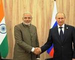 Nga - Ấn Độ tăng cường quan hệ đối tác chiến lược đặc biệt