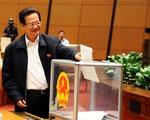 Quốc hội thông qua kết quả lấy phiếu tín nhiệm 50 chức danh chủ chốt