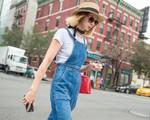 Xu hướng denim thống lĩnh thời trang đường phố New York