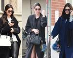 Kendall Jenner chuộng áo khoác quá khổ mùa Thu - Đông