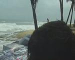 Bờ biển Cửa Đại sạt lở nặng nề