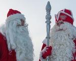 Thú vị ông già Noel Nga và Phần Lan giao lưu cuối năm