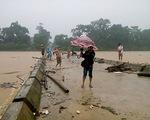 Mưa lớn gây ngập lụt trên diện rộng tại Hà Tĩnh
