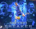 Leicester City 1-1 Man Utd: Vardy đi vào lịch sử Premier League