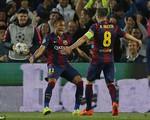 Tình huống Iniesta làm xiếc trước khung thành PSG