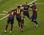 Raktic sút tung lưới Juve từ rất sớm mở tỉ số trận chung kết