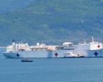 Tàu bệnh viện khổng lồ của Hải quân Hoa Kỳ tới Đà Nẵng