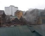 Hà Nội: Sập biệt thự cổ trên phố Trần Hưng Đạo