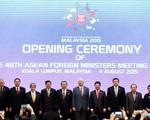 """Biển Đông sẽ làm """"nóng"""" Diễn đàn khu vực ASEAN"""