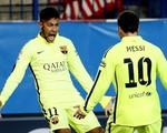 Neymar rực sáng, Barca thắng ngược Atletico