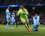 Man City 1-2 Barcelona: Suarez tỏa sáng, Barca đánh sập pháo đài Etihad