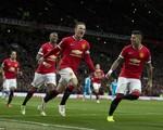 Man Utd 2-0 Sunderland: Rooney lập cú đúp đưa Quỷ đỏ vào top 3