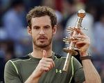 Madrid Open: Vùi dập Nadal, Andy Murray lên ngôi vô địch