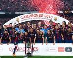 """""""Siêu nhân"""" Messi lập cú đúp, Barcelona vô địch Cup nhà vua TBN"""
