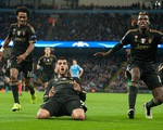 Morata lập siêu phẩm, Juventus khuất phục Man City ngay tại Etihad