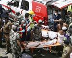 Cảnh tượng kinh hoàng vụ giẫm đạp làm hơn 700 người chết ở Thánh địa Mecca
