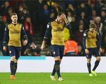 Thua sốc Southampton 0-4, Arsenal đánh rơi cơ hội chiếm ngôi đầu