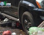 Hiện trường vụ tai nạn liên hoàn tại TP.HCM