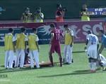Thanh Hào khóc ngất khi chứng kiến Abass bị gãy chân
