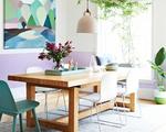 15 ý tưởng làm mới khu vực bàn ăn