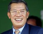 Đảng Nhân dân Campuchia bầu Thủ tướng Hun Sen làm Chủ tịch mới