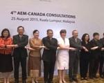 Hội nghị tham vấn Bộ trưởng Kinh tế ASEAN - Canada