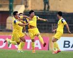 Vòng 9 V.League 2015: SLNA vươn lên thứ 4, Hải Phòng tụt hạng