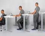 Tạo đủ dáng với bàn làm việc thông minh
