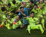 Vô địch La Liga, sao Barca chia sẻ gì trên mạng xã hội?