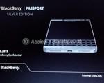 BlackBerry sẽ ra mắt phiên bản màu bạc của chiếc Passport