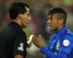 Chính thức nhận án treo giò 4 trận, Neymar bị buộc phải rời Chile