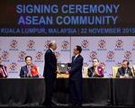 Lãnh đạo các nước hoan nghênh ASEAN ký tuyên bố thành lập Cộng đồng ASEAN