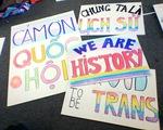 Cộng đồng chuyển giới vỡ òa hạnh phúc vì được luật pháp công nhận