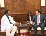 Chủ tịch nước Trương Tấn Sang tiếp Đại sứ Nigeria