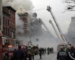 Mỹ: Nổ lớn đánh sập hai tòa nhà ở New York