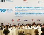 Diễn đàn Doanh nghiệp Việt Nam: Tiếp tục đổi mới môi trường kinh doanh